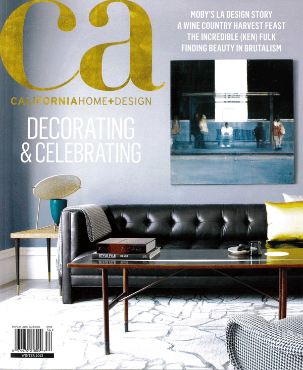 CALIFORNIA HOME AND DESIGN WINTER 2013