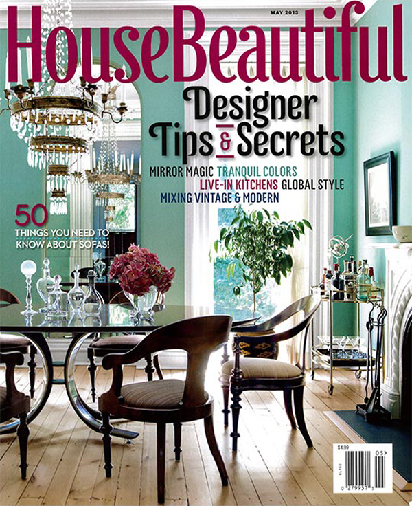 House Beautiful May 2013 Article